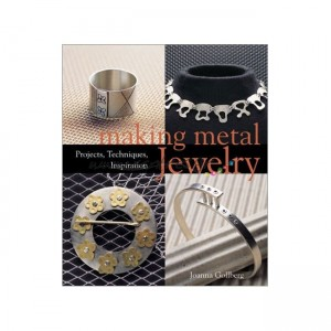 Making metal jewelry by Joanna Gollberg
